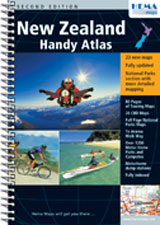 NEW ZEALAND. HANDY ATLAS [ESPIRAL] -HEMA