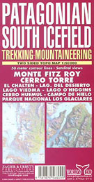 PATAGONIAN SOUTH ICEFIELD 1:50.000 FITZ ROY CERRO TORRE