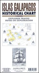 ISLAS GALAPAGOS HISTORICAL CHART 1:400.000 -ZAGIER