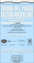 TIERRA DEL FUEGO 1:400.000 SECTOR ARGENTINO -ZAGIER