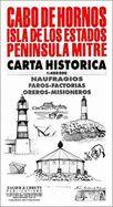 CABO DE HORNOS 1:400 000 -CARTA HISTORICA