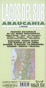 LAGOS DEL SUR 1:400.000. ARAUCANIA- ZAGIER & URRUTY