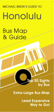 HONOLULU & OAHU. BUS MAP & GUIDE