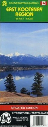 EAST KOOTENAY REGION 1:100.000- ITMB