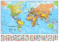 MUNDO 1:60.000.000 [MURAL] -TIMAPS (MAPS INTERNATIONAL)