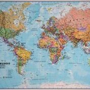 MUNDO, EL [MOUSE 65X42] 1:60.000.000 - MAPS INTERNATIONAL
