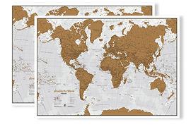 RASCA EL MUNDO -SCRATCH MAP [CAS] [MURAL]