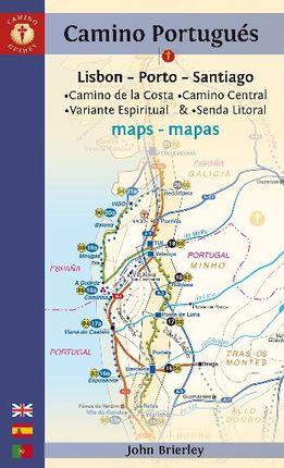 CAMINO PORTUGUES MAPAS [ENG/CAS/POR/DEU]