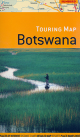 BOTSWANA 1:1.430.000 TOURING MAP