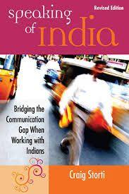 SPEAKING OF INDIA