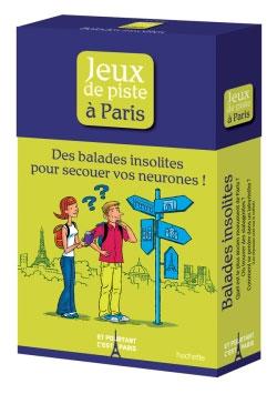 JEUX DE PISTE A PARIS [CAPSA]