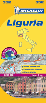 352 LIGURIA 1:200.000 -MICHELIN