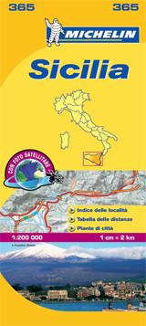 365 SICILIA 1:200.000 -MICHELIN