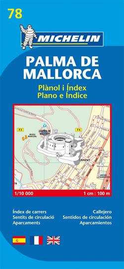 78. PALMA DE MALLORCA 1:10.000 -MICHELIN
