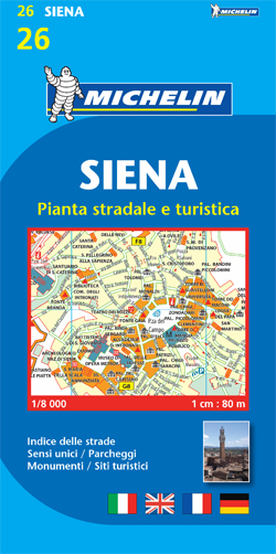26. SIENA 1:8.000 -MICHELIN