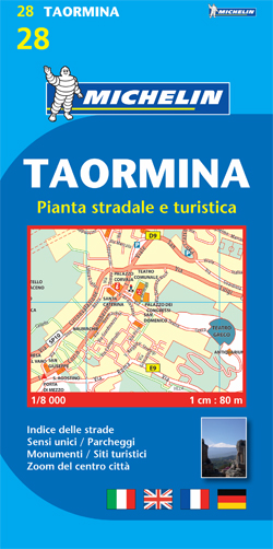 28. TAORMINA 1:8.000 -MICHELIN
