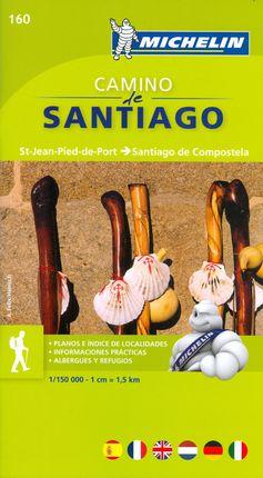 160 CAMINO DE SANTIAGO 1:150.000 -MICHELIN MAPA ZOOM