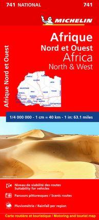 741 AFRICA NORTE Y OESTE 1:4.000.000 -MICHELIN