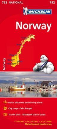 752 NORWAY 1:1.250.000 -MICHELIN