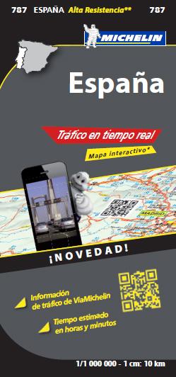 787 ESPAÑA 1:1.000.000 TRAFICO EN TIEMPO REAL -MICHELIN