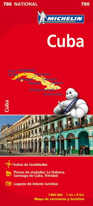 786 CUBA 1:800.000 -MICHELIN