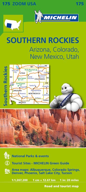 175 USA. SOUTHERN ROCKIES 1:1.267.200 -MICHELIN ZOOM