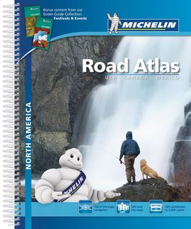 NORTH AMERICA. ROAD ATLAS [ESPIRAL] -MICHELIN