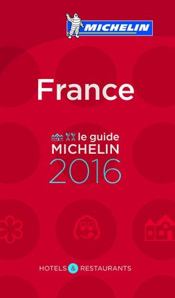 2016 FRANCE -GUIA ROJA MICHELIN
