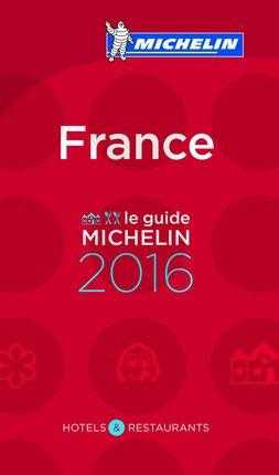 2016 FRANCE -GUIA ROJA MICHELIN