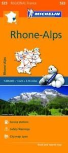 523 RHONE ALPES 1:200.000- MICHELIN