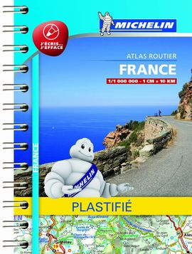 ATLAS FRANCE [PLASTIFICAT]1:1.000.000- MICHELIN