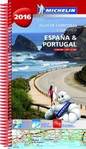 2016 ESPA�A & PORTUGAL 1:350.000 [ESPIRAL] ATLAS CARRETERAS -MICHELIN