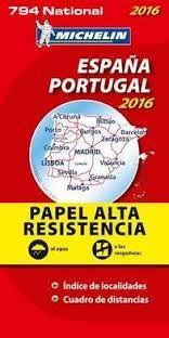794 ESPAÑA - PORTUGAL 1:1.000.000 (ALTA RESISTENCIA) -MICHELIN