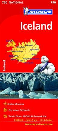 750 ICELAND 1:500.000 -MICHELIN