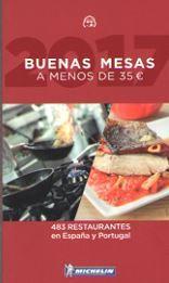 2017 - BUENAS MESAS A MENOS DE 35- GUIA ROJA MICHELIN