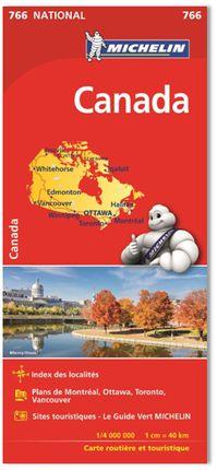 766 CANADA 1:4,000,000 -MICHELIN