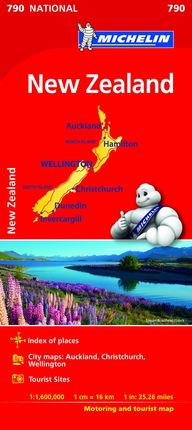 790 NEW ZEALAND 1:1,600,000 -MICHELIN