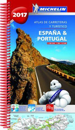 2017 ESPAÑA & PORTUGAL [ESPIRAL] ATLAS CARRETERAS -MICHELIN