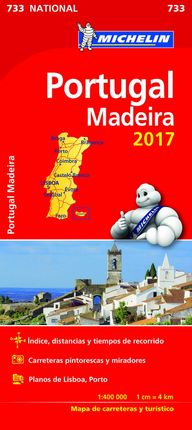 733 PORTUGAL, MADEIRA 1:400.000- MICHELIN