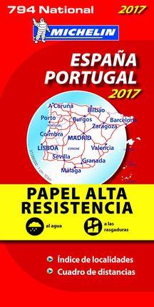//794ESPAÑA - PORTUGAL 1:1.000.000 [ALTA RESISTENCIA]- MICHELIN