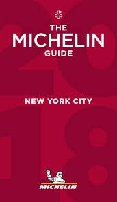 2018 NEW YORK -GUIA ROJA MICHELIN