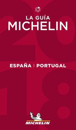 2018 ESPAÑA - PORTUGAL -GUIA ROJA MICHELIN