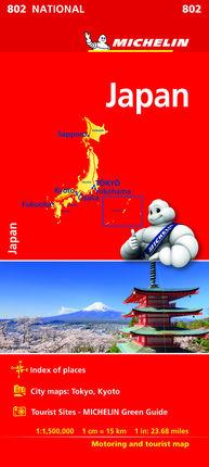 802 JAPAN 1:1.500.000 -MICHELIN