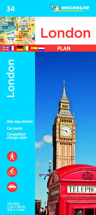 34. LONDON 1:8.000 -MICHELIN
