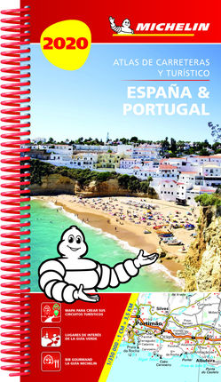 2020 ESPAÑA & PORTUGAL [ESPIRAL] ATLAS CARRETERAS Y TURISTICO -MICHELIN