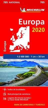 705 EUROPA 1:3.000.000 -MICHELIN