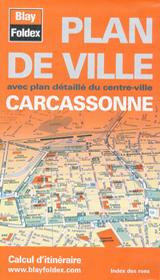 CARCASSONNE 1:10.000 PLAN DE VILLE -BLAY FOLDEX