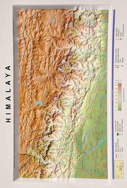 HIMALAYA -RELIEVE