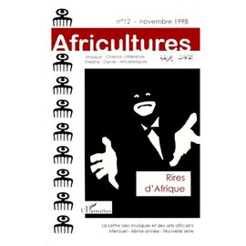 12 AFRICULTURES NOVEMBRE 1998