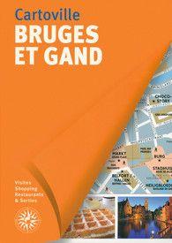 BRUGES ET GAND [PLANO GUIA] -CARTOVILLE
